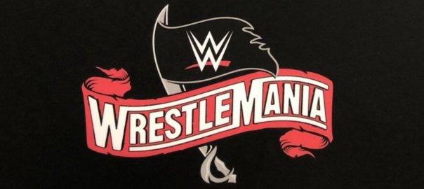 Logo von WrestleMania 36